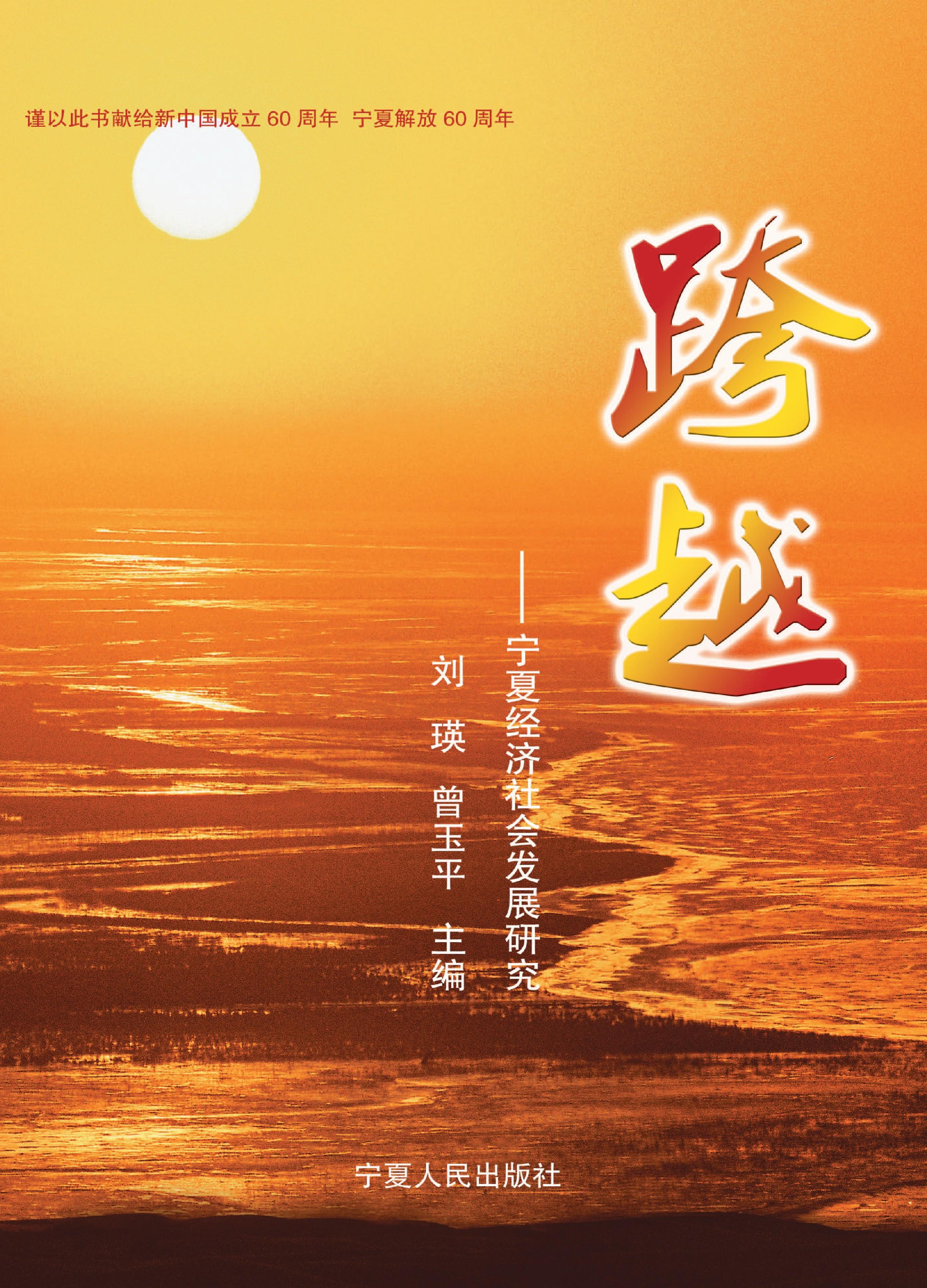 跨越:宁夏经济社会发展研究